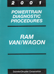 2001 Dodge Ram Van/Wagon Powertrain Diagnostic Procedures