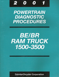 2001 Dodge BE/BR Ram Truck 1500 - 3500 Powertrain Diagnostic Procedures