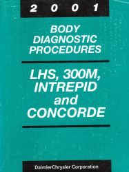 2001 Chrysler LHS, 300M, Concorde & Dodge Intrepid Factory Body Diagnostic Procedures Manual