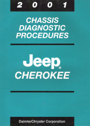 2001 Jeep Cherokee Chassis Diagnostic Procedures