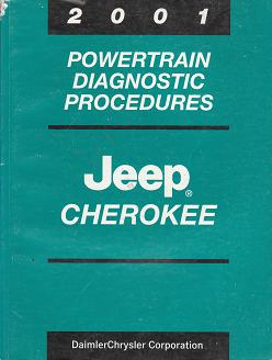 2001 Jeep Cherokee Powertrain Diagnostc Procedures
