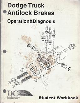 2003 Dodge Truck Antilock Brakes Opeartation & Diagnosis Student Workbook