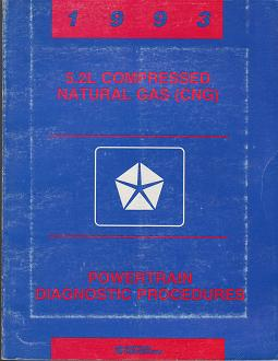 1993 Dodge 5.2L Compressed Natural Gas (CNG) Powertrain Diagnostic Procedures