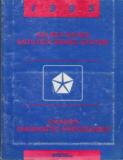 1993 Dodge Dakota / Ram Van Kelsey - Hayes Antilock Brake System Chassis Diagnostic Procedures