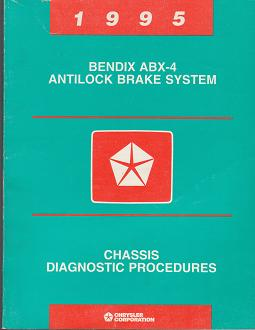 1995 Dodge / Plymouth Neon Bendix ABX-4 Antilock Brake System Chassis Diagnostic Procedures