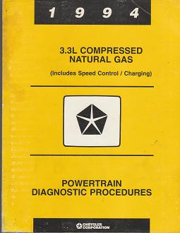 1994  Chrysler / Dodge / Plymouth 3.3L Compressed Natural Gas Powertrain Diagnostic Procedures