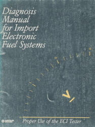 Diagnosis Manual for Import Electronic Fuel Systems