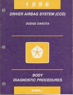1996 Dodge Dakota Driver Airbag System (CCD) Body Diagnostic Procedures