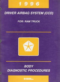 1996 Dodge Ram / Dakota Drive Airbag System (CCD) Body Diagnostic Procedures