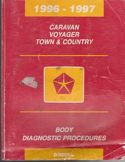 1996-1997 Chrysler Town & Country / Dodge Caravan / Plymouth Voyager Body Diagnostic Procedures