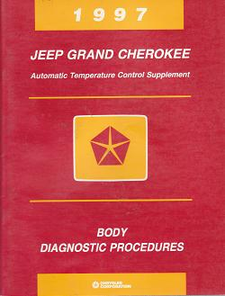 1997 Jeep Grand Cherokee Automatic Temperature Control Supplement Body Diagnostic Procedures