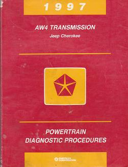 1997 Jeep Cherokee AW4 Transmission Powertrain Diagnostic Procedures