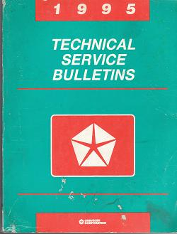 1995 Chrysler Technical Service Bulletins