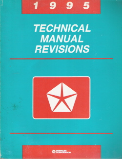 1995 Chrysler Technical Revisions Manual