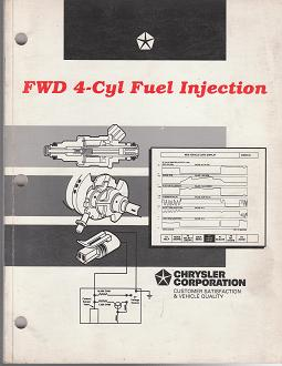 1996 Chrysler FWD 4 - Cyl Fuel Injection Student Workbook