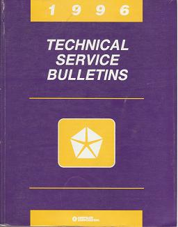 1996 Chrysler / Dodge / Plymouth / Eagle / Jeep Technical Service Bulletins