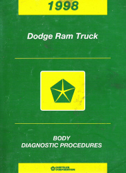 1998 Dodge Ram Truck Body Diagnostic Procedures