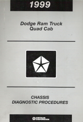 1999 Dodge Ram Truck Quad Cab Chassis Diagnostic Procedures