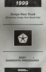 1999 Dodge Ram (Excluding Quad Cab) Body Diagnostic Procedures