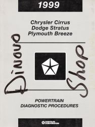1999 Chrysler Cirrus, Dode Stratus, and Plymouth Breeze Factory Powertrain Diagnostic Procedures Manual