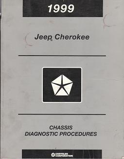 1999 Jeep Cherokee Chassis Diagnostic Procedures