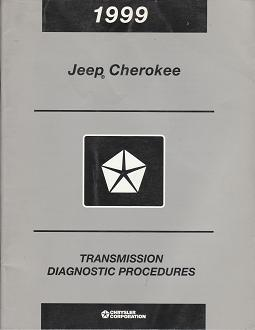 1999 Jeep Cherokee Transmission Diagnostic Procedures