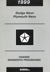 1999 Dodge & Plymouth Neon Chassis Diagnostic Procedures