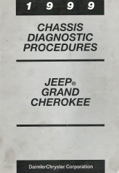 1999 Jeep Grand Cherokee Chassis Diagnostic Procedures