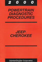 2000 Jeep Cherokee Powertrain Diagnostic Procedures