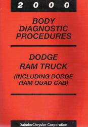 2000 Dodge Ram Truck (Including Quad Cab) Body Diagnostic Procedures