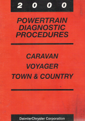 2000 Dodge Caravan, Chrysler Town and Country, and Plymouth Voyager Factory Powertrain Diagnostic Procedures
