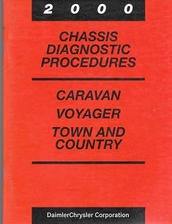 2000 Chyrsler Town & Country / Dodge Caravan / Plymouth Voyager Chassis Diagnostic Procedures