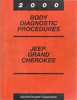 2000 Jeep Grand Cherokee Body Diagnostic Procedures
