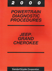 2000 Jeep Grand Cherokee Powertrain Diagnostic Procedures