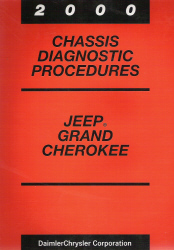 2000 Jeep Grand Cherokee Chassis Diagnostic Procedures (TEVES Mark 20 ABS Brakes)