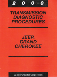 2000 Jeep Grand Cherokee 45RFE Transmission Diagnostic Procedures