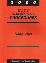 2000 Dodge Ram Van Body Diagnostic Procedures