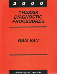 2000 Dodge Ram Van Chassis Diagnostic Procedures
