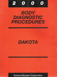 2000 Dodge Dakota Body Diagnostic Procedures