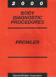 2000 Plymouth Prowler Factory Body Diagnostic Procedures