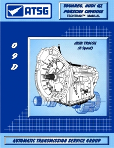 Audi, Porsche and Volkswagen 09D / TR60SN 6 Speed Automatic Transmission Rebuild Manual
