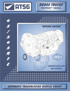 Chrysler 45RFE / 545RFE Transmission Rebuild Manual