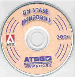 GM THM 4T65-E Transaxle Update Manual on CD-ROM