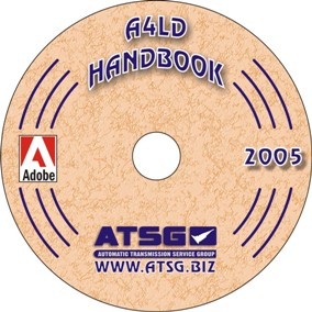 Ford A4LD Automatic Transmission Update Handbook CD