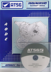 Ford AOD-E / 4R70W Automatic Transmission Training DVD Video & Rebuild Manual Combo Pack