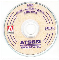 Ford AODE, 4R70W, 4R75E Automatic Transmission Update Manual on CD-ROM