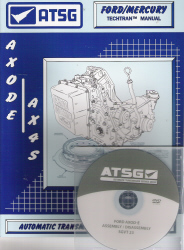 Ford AXODE / AX4S Transaxle Training DVD Video & Rebuild Manual Combo Pack