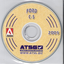 Ford C5 Transmission Rebuild Manual CD-ROM