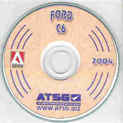 Ford C6 Transmission Rebuild Manual on CD-ROM