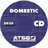 ATSG Domestic Automatic Transmission Rebuild Manuals CD-ROM